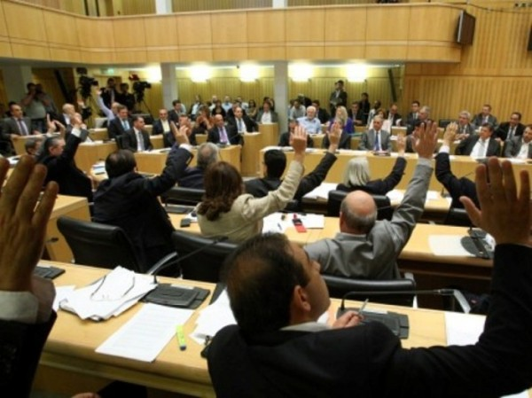 The Cypriot Parliament passed a resolution today making the denial of the Armenian Genocide a crime. (Photo: Cyprus Mail)